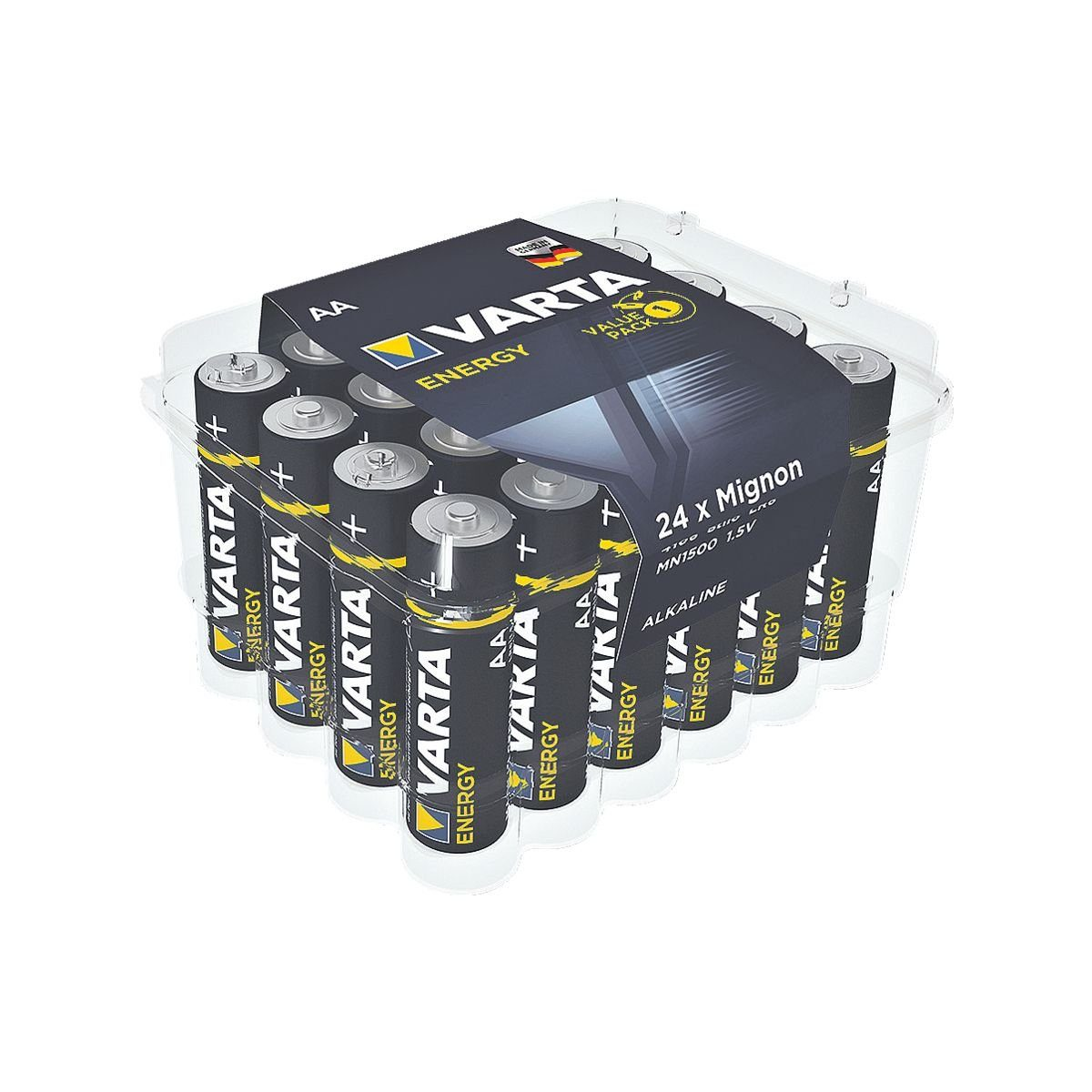 VARTA Batterien Mignon / AA / LR06 »Energy«