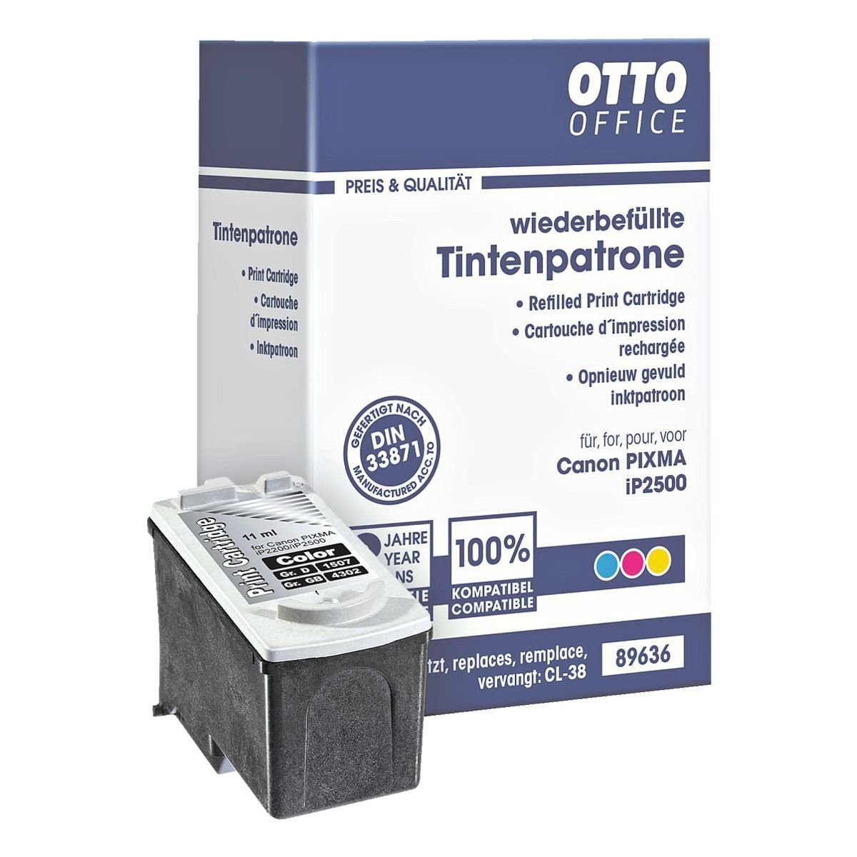 OTTO Office Standard Tintenpatrone ersetzt Canon »CL-38«