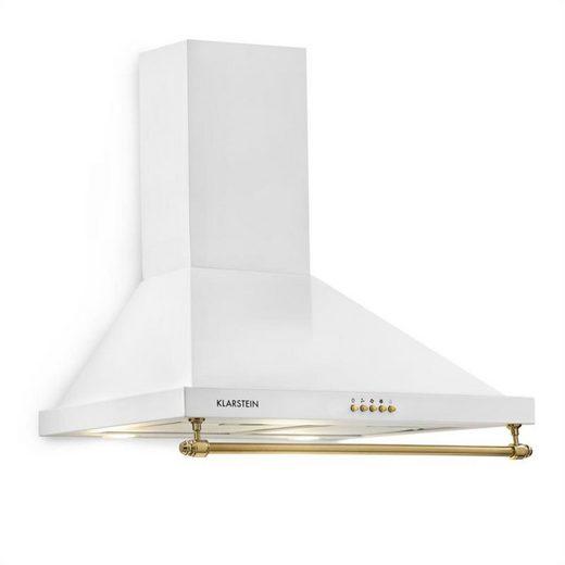 Klarstein Wandhaube Montblanc 60 Dunstabzugshaube 610m³/h 165W 2x1,5W LED Reling