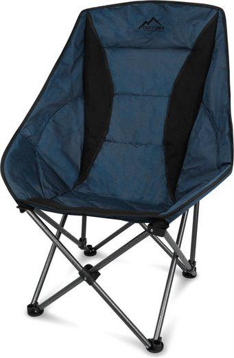 normani Campingstuhl »Campingsessel Ontario«, Relaxsessel Moonchair Schalensitz Klappstuhl Gartenstuhl Outdoorstuhl - Traglast: 150 Kg (330 lbs)