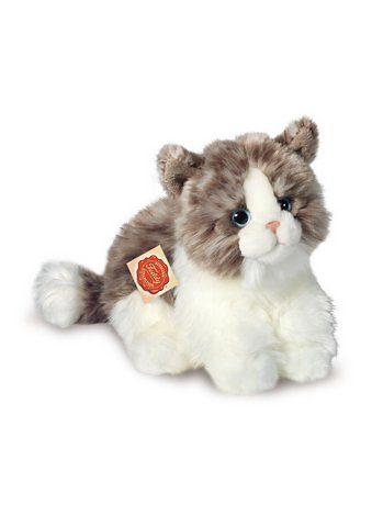 Teddy Hermann® COLLECTION Plüschtier »Katze, sitzend, grau, 23 cm«