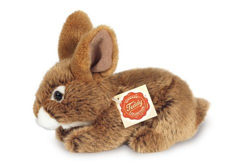Plüschtier, Teddy Hermann® COLLECTION, »Hase sitzend, braun, 19 cm«