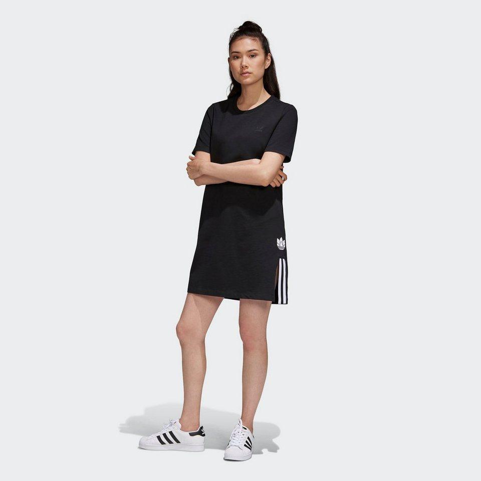 adidas originals sweatkleid »adicolor 3d trefoil t-shirt-kleid« online  kaufen | otto