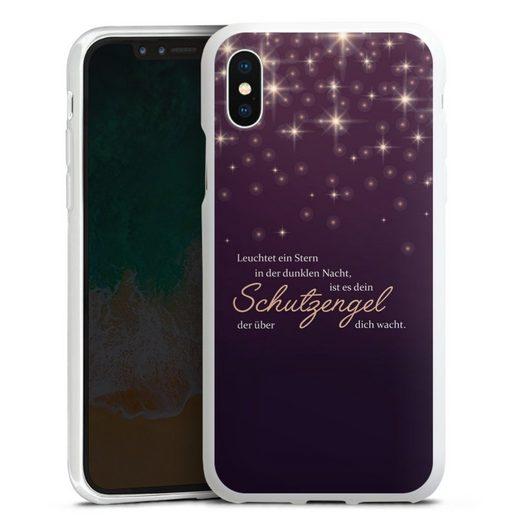 DeinDesign Handyhülle »Schutzengel« Apple iPhone Xs, Hülle Engel Schutzengel Sprüche