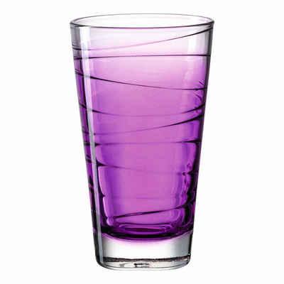 LEONARDO Glas »Vario Struttura violett 280 ml«, Glas