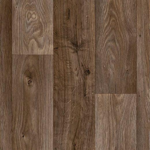 ANDIAMO Vinylboden »Elegance«, Breite 300 cm, Meterware, Stab-Optik, braun