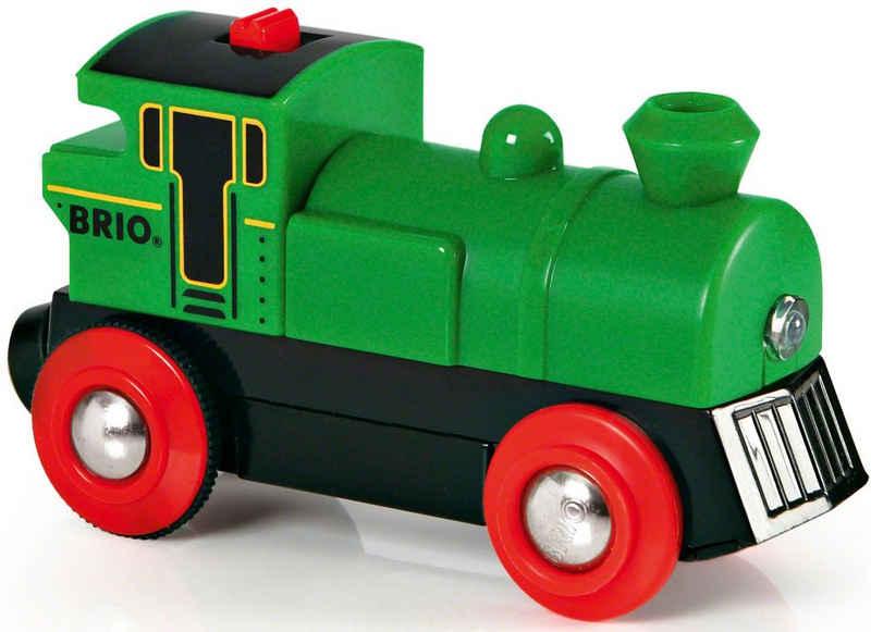 BRIO® Spielzeug-Eisenbahn »BRIO® WORLD Speedy Green Batterielok«, mit LichtfunktionMade in Europe, FSC® - schützt Wald - weltweit