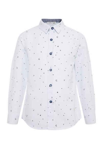 DeFacto Hemd »Junge Langarm-Shirt Smart Polo Neck Long Sleeve«