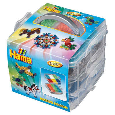 Hama Perlen Bügelperlen »HAMA 6701 Bügelperlen-Sortierbox mit 6.000«