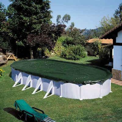 SUMMER FUN Pool-Abdeckplane »Summer Fun Winter Pool Abdeckung Oval PVC Grün Abdeckplane mehrere Auswahl«