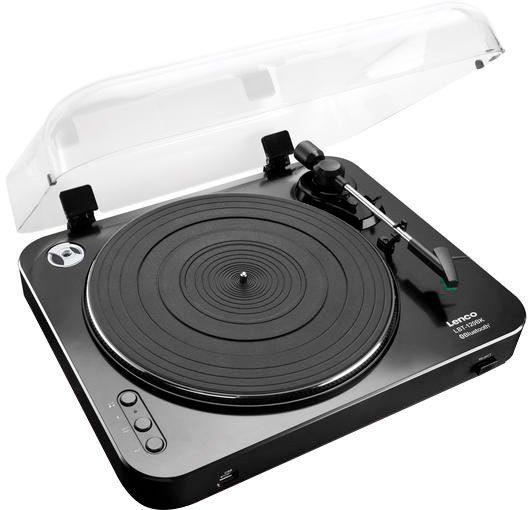 Lenco »LBT-120« Plattenspieler (Riemenantrieb, Bluetooth)