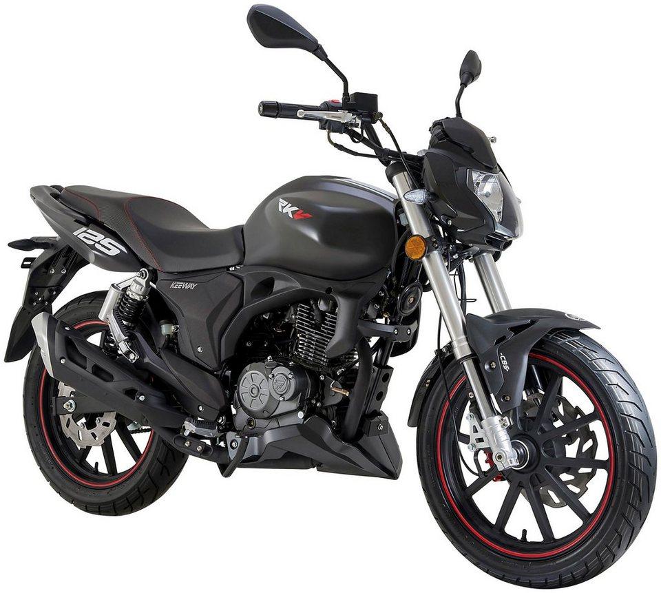 Keeway Motorrad, 125 ccm, 95 km/h, 10,88 PS, »RKV 125