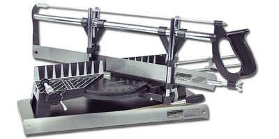Brüder Mannesmann Werkzeuge Gehrungssäge »550 mm«, 11x Winkel-Rasteinstellung