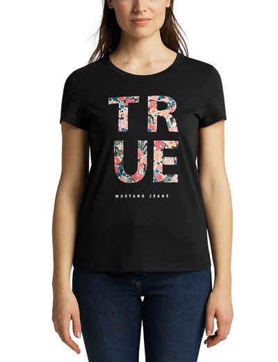 MUSTANG T-Shirt »Alina C Print«