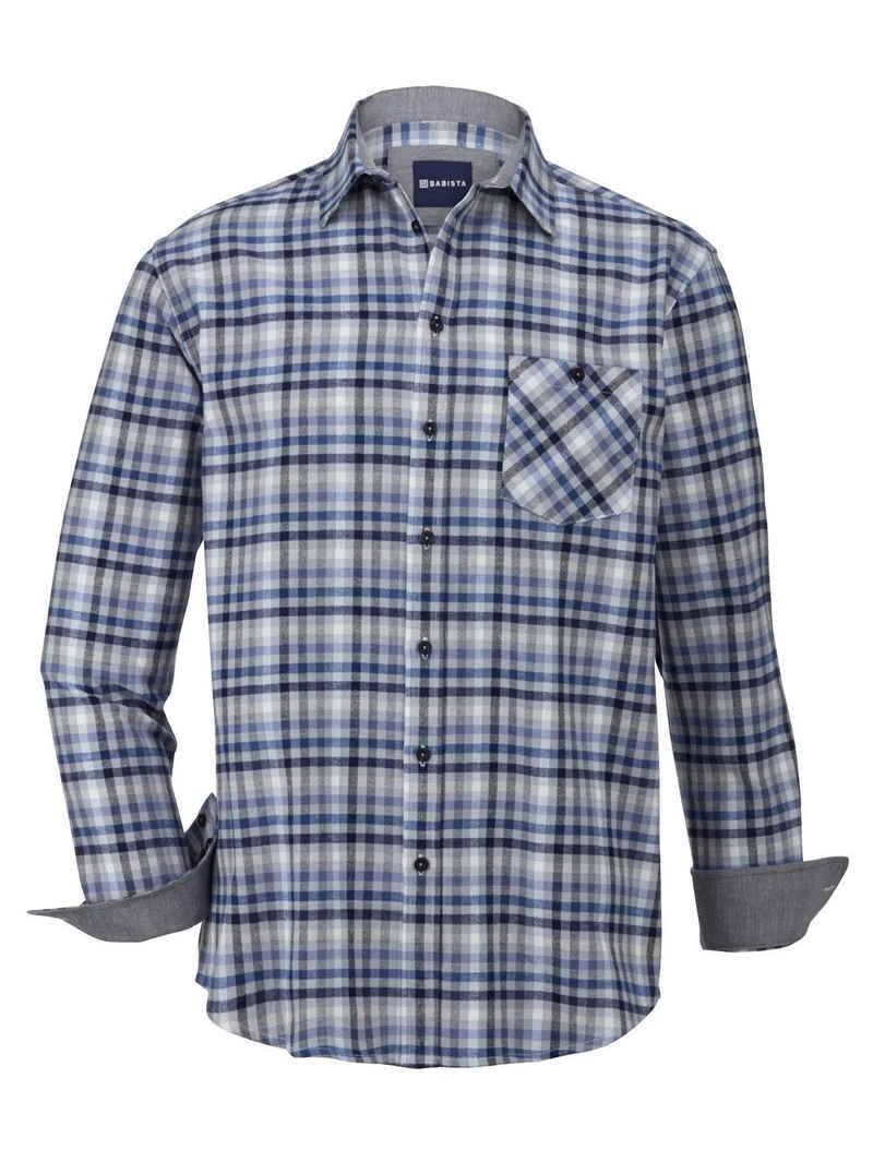 Babista Flanellhemd aus reiner Baumwolle