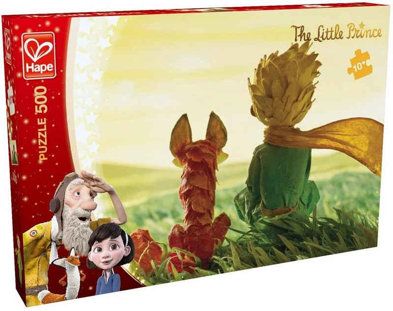 "Hape Steckpuzzle »Der kleine Prinz - Puzzle ""Freundschaft"" (500 Teile)«, 500 Puzzleteile"