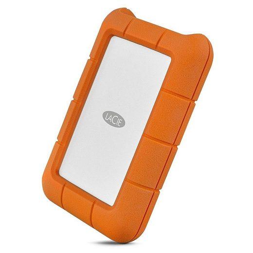 LaCie »Rugged 4TB USB-C orange« externe HDD-Festplatte