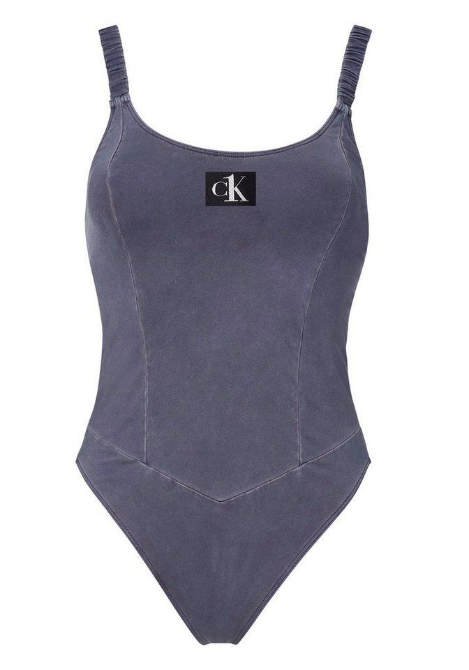 Bademode - Calvin Klein Badeanzug, in Used Optik ›  - Onlineshop OTTO