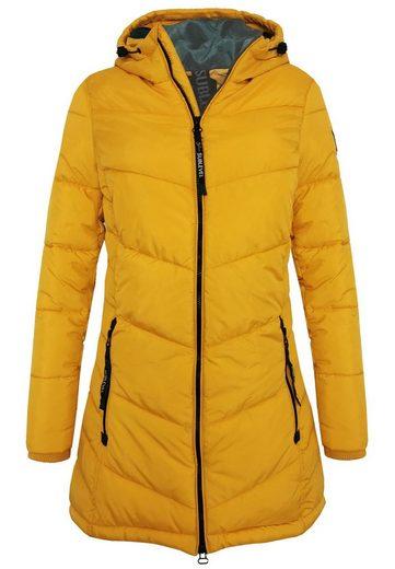SUBLEVEL Winterjacke »OM150« Damen Winter Stepp Mantel mit Kapuze