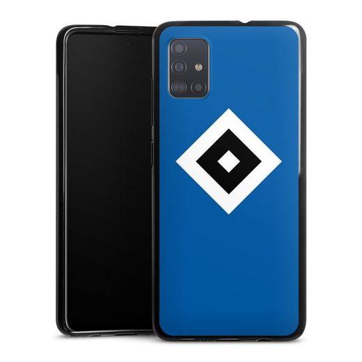 DeinDesign Handyhülle »HSV Blau« Samsung Galaxy A51, Hülle Hamburger SV Logo HSV