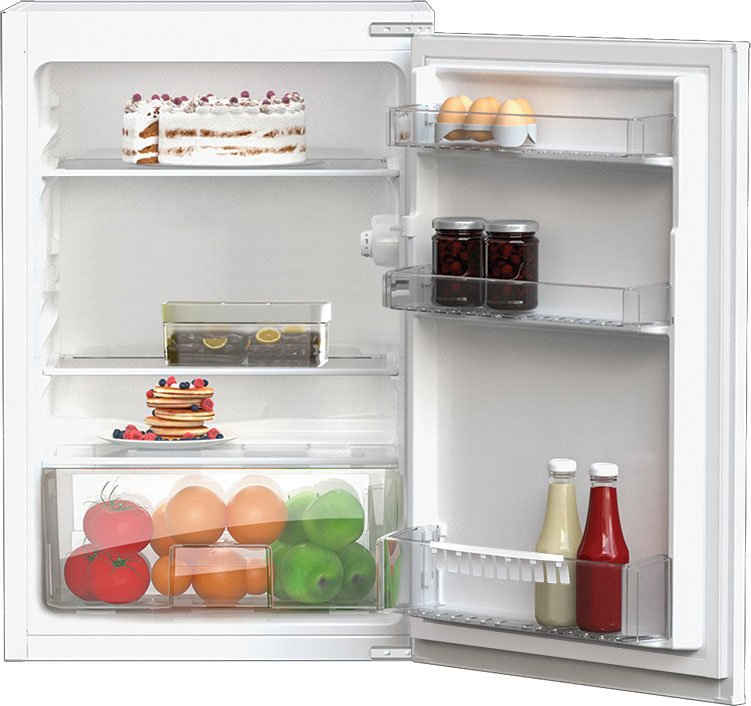 BEKO Einbaukühlschrank B1803N, 86 cm hoch, 54,5 cm breit