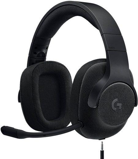 Logitech G »G433« Gaming-Headset (Mikrofon abnehmbar, Rauschunterdrückung)