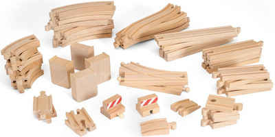 BRIO® Gleise-Set »Holzschienenset, »WORLD Großes Schienensortiment«, FSC®-Holz aus gewissenhaft bewirtschafteten Wäldern