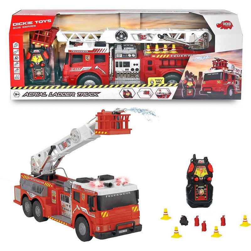 Dickie Toys Spielzeug-Auto »RC Aerial Ladder Truck - Feuerlöschzug mit«
