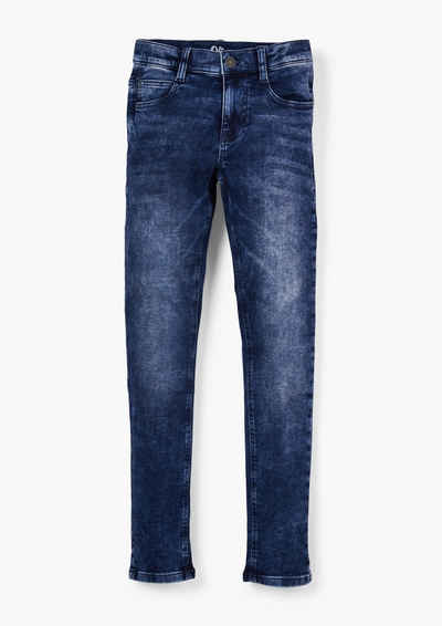 s.Oliver 5-Pocket-Jeans »Slim: Jeans mit Waschung« Waschung