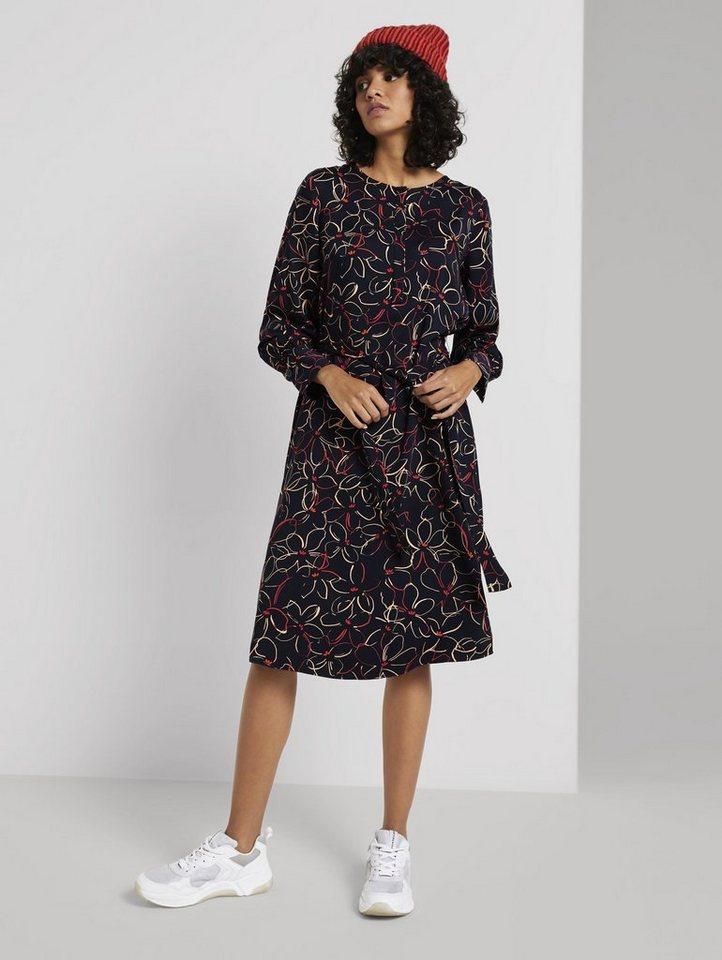tom tailor mine to five -  Blusenkleid »Midi Blusenkleid mit Blumenprint«