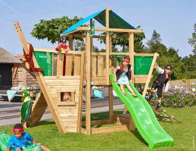 Jungle Gym Spielturm »Jungle Hut Boat«, BxTxH: 404x367x290 cm
