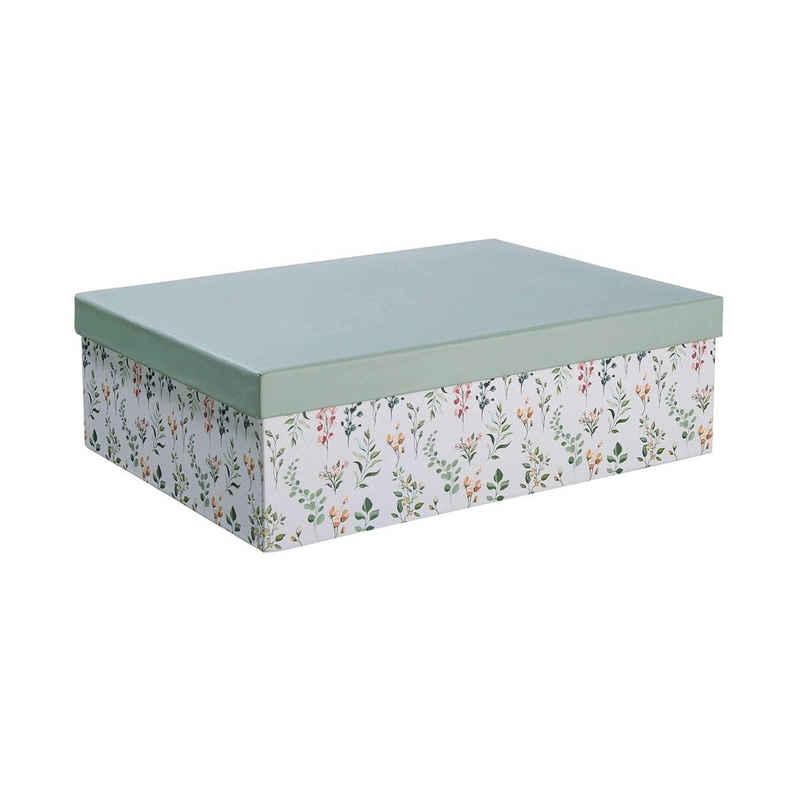 BUTLERS Aufbewahrungsbox »MIA FLEUR Aufbewahrungsbox Floral L 33 x B 24cm«