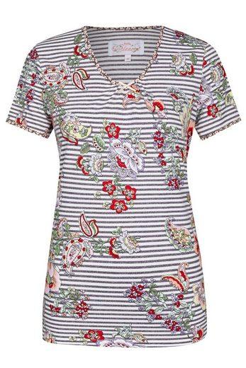 Ringella Pyjamaoberteil Bloomy Kollektion