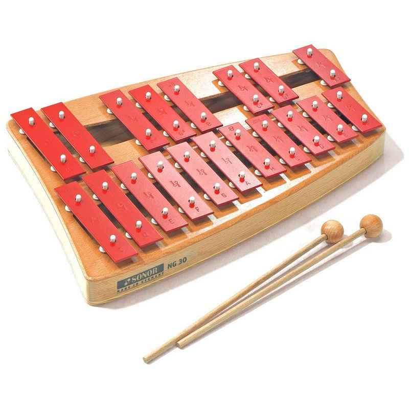 Sonor Glockenspiel »Sonor NG-30 Glockenspiel Xylophon Sopran«