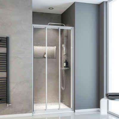 Schulte Dusch-Schiebetür »Sunny«, 80x175: cm, Kunststoff, mit Verstellbereich