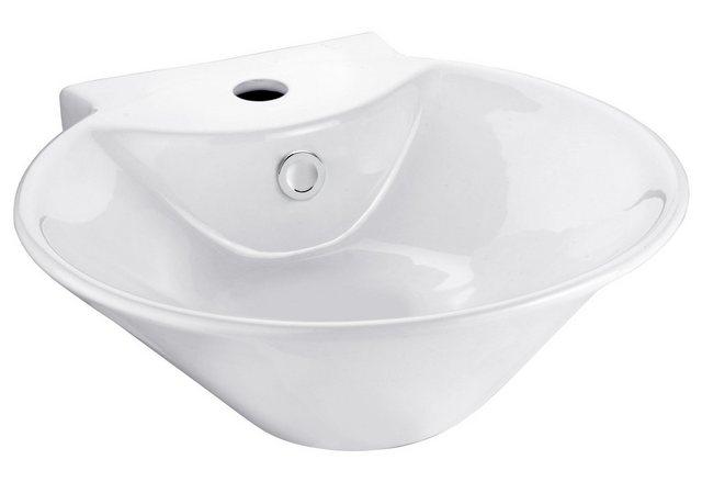 Waschtische - CORNAT Aufsatzwaschbecken »Sines«, mit Überlaufzierrosette, Breite 42 cm  - Onlineshop OTTO