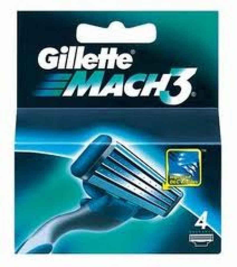 Gillette Rasierklingen »Gillette Mach 3-4er Rasierklingen«