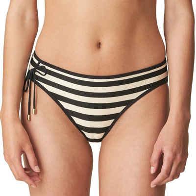 Marie Jo Bikini-Hose »Swim - Merle Bikini Rio slip«, Mit eingewebten Glitzerfäden, Bikini-Unterteil im Rio-Schnitt, Modisch maritimer Look