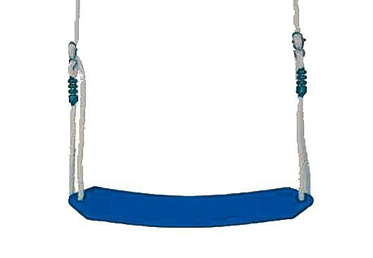 Dein Spielplatz Zubehör für Schaukel oder Spielturm »Elastischer Schaukelsitz, blau« in blau