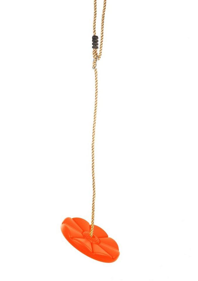 Dein Spielplatz Zubehör für Schaukel und Spielturm »Tellerschaukel, orange« in rot