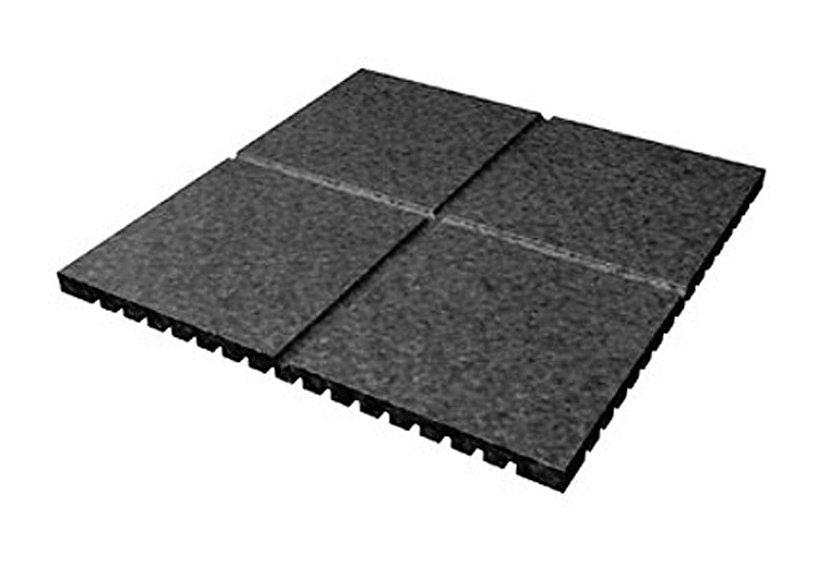 Dein Spielplatz Zubehör für Schaukel oder Spielturm »Fallschutzmatte, 1 Stück 50x50 cm«