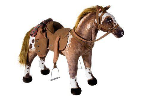 Plüschtier mit Sound, Heunec, »Cowboy-Pferd stehend«