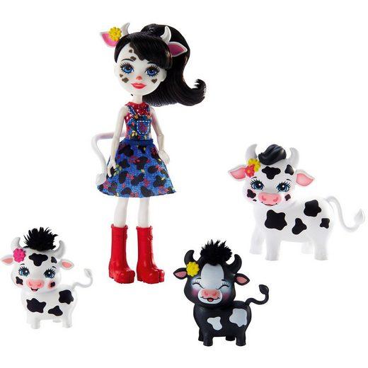Mattel® Enchantimals Cambrie Cow, Ricotta & Familie