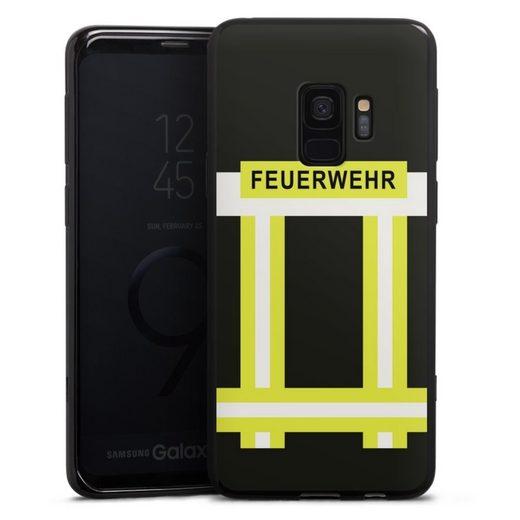 DeinDesign Handyhülle »Feuerwehr« Samsung Galaxy S9, Hülle Feuerwehr Feuerwehrmann Beruf