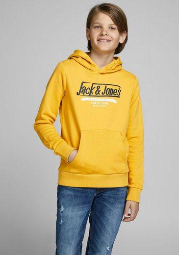 Jack & Jones Junior Kapuzensweatshirt »JJELOGO SWEAT HOOD 2 COL«