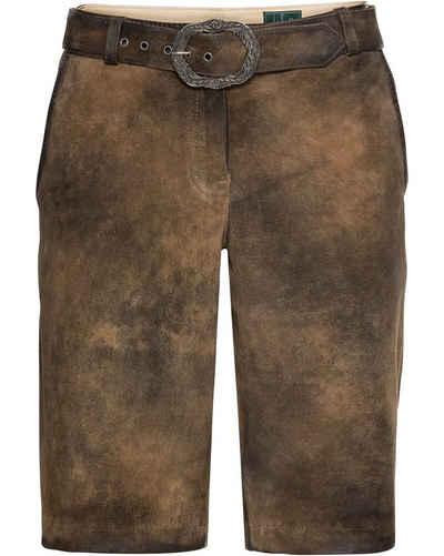 Luis Steindl Trachtenhose »Kurze Lederhose«