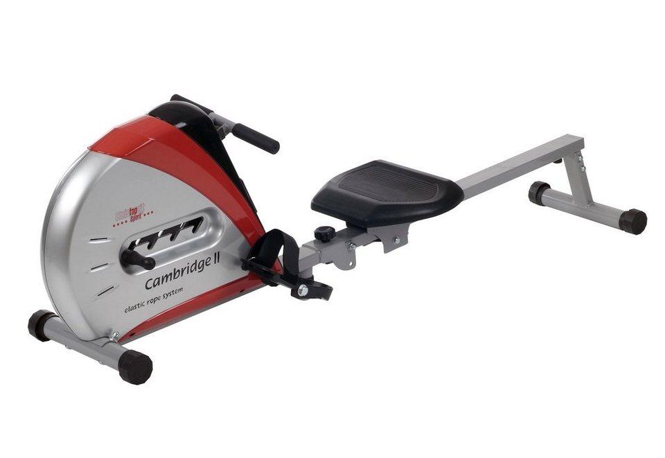Ruderzugmaschine, Christopeit Sport®, »Cambridge II« in silberfarben-schwarz-rot