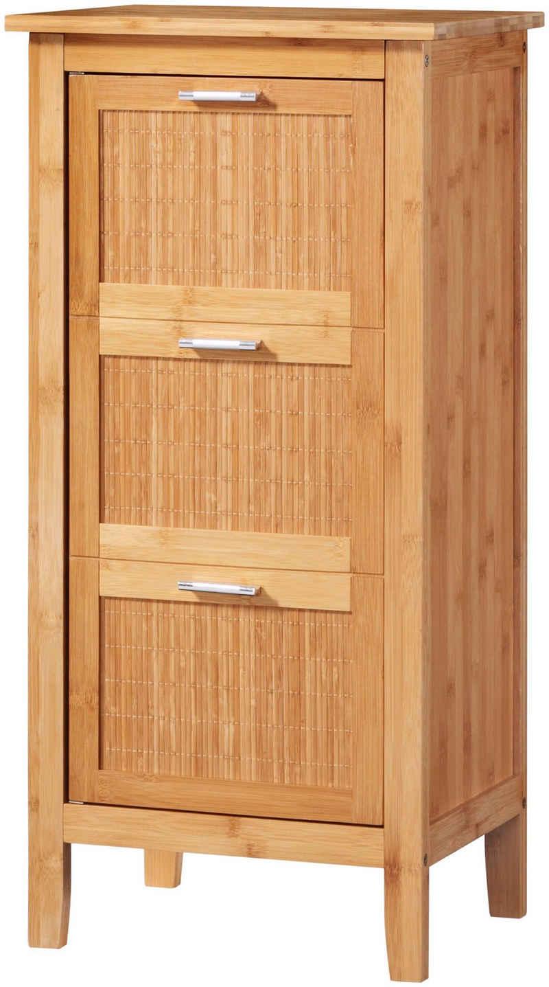 welltime Unterschrank »Bambus« Badmöbel, Breite 40 cm
