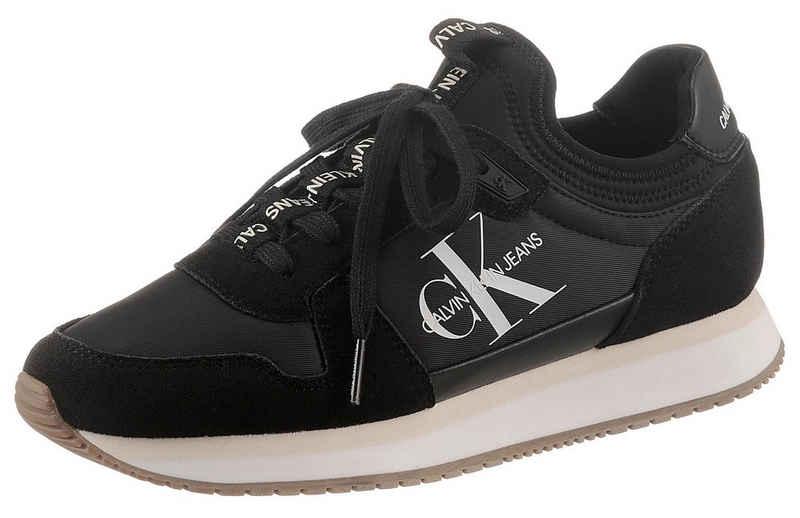 Calvin Klein »RUNNER LACEUP SNEAKER SOCK« Slip-On Sneaker mit elastischem Einstieg