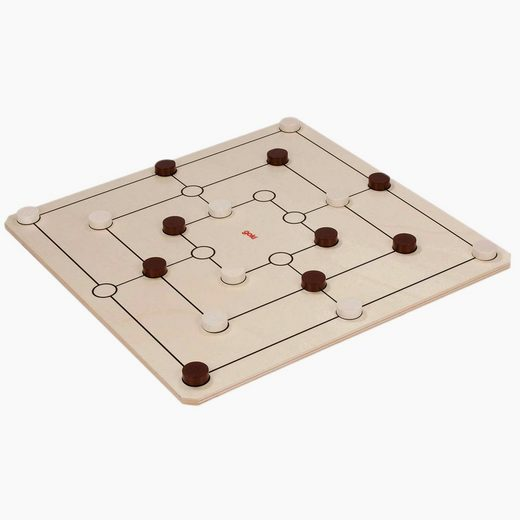 goki Spiel, Dame undf Mühle »XXL Spiele-Set Dame und Mühle GOKI«, Made in Germany